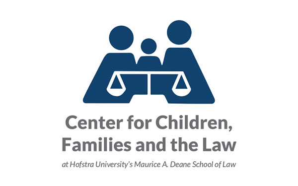 Center for Children, Families and the Law at Hofstra University's Maurice A. Deane School of Law Logo