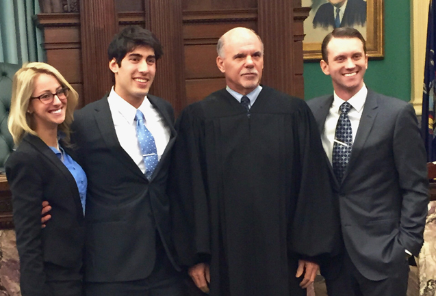 Mock Trial Team Wins Regional Round of Prestigious Trial Competition