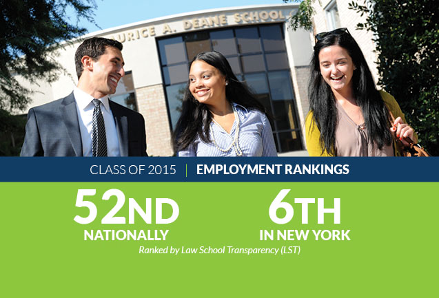 Class of 2015 Ranked Highly by Law School Transparency (LST)
