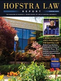 Hofra Law Report magazine cover