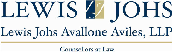 Lewis Johs Avallone Aviles, LLP; Counsellors at Law