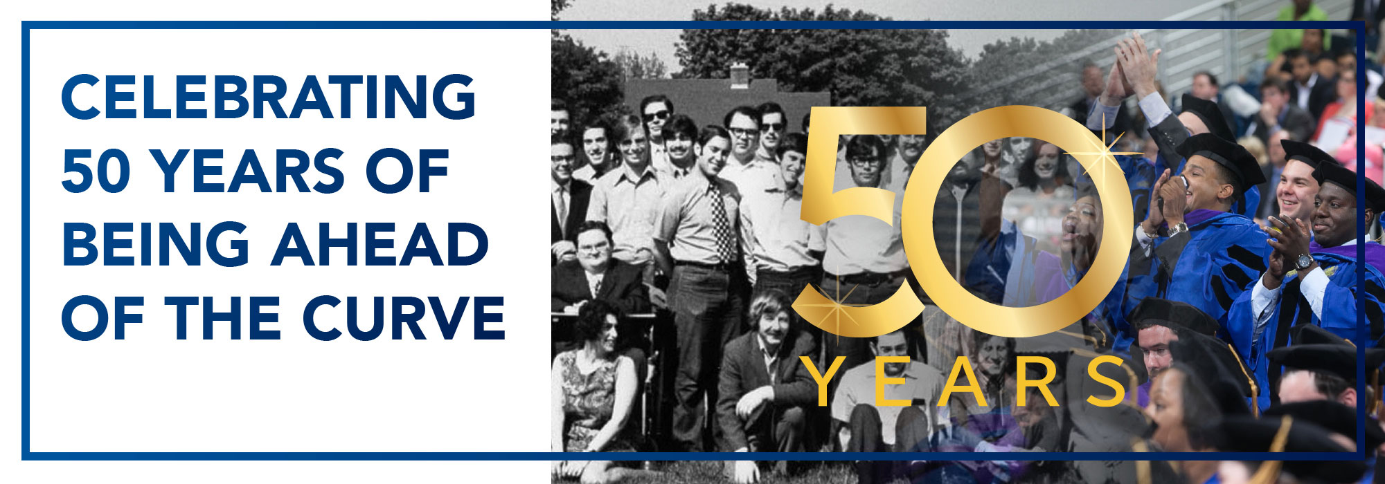 Celebrating 50 Years of Being Ahead of the Curve