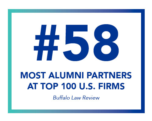 #58 Most Alumni Partners at Top 100 U.S. Firms - Buffulo Law Review.